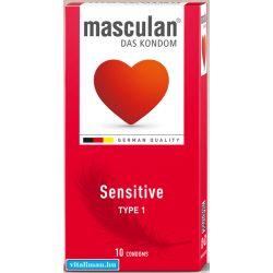 Masculan-1 Sensitive óvszer - 10 db