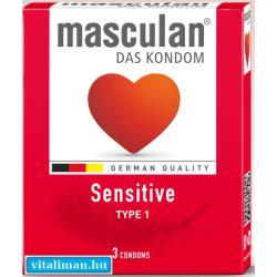 Masculan-1 Sensitive óvszer - 3 db
