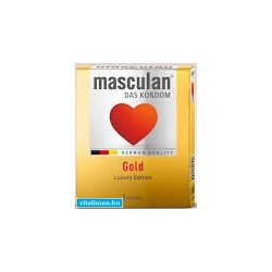 Masculan Gold óvszer - 3 db