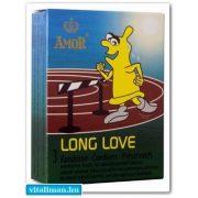 AMOR LONG LOVE késleltető óvszer - 3 db