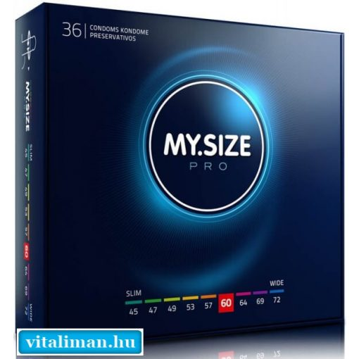 My Size 60 - 36 db óvszer