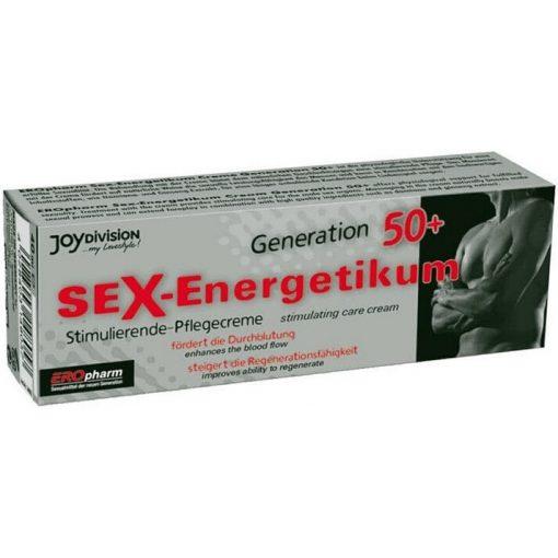 EROpharm - Sex Energetikum Generation 50+ Creme - 40 ml