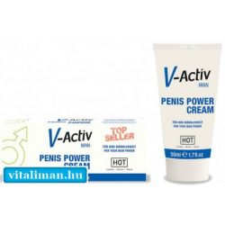HOT V-Activ PENIS POWER CREAM - 50 ml
