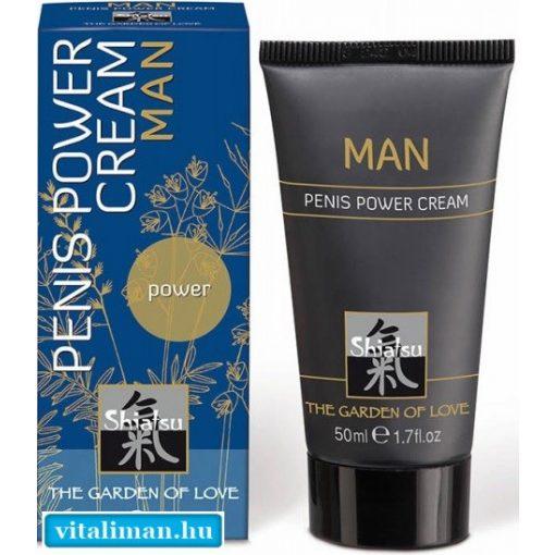 HOT MAN PENIS POWER CREAM - 50 ml