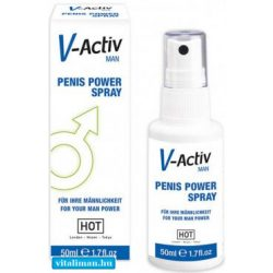 HOT V-Activ Penis Power Spray for Men - 50 ml