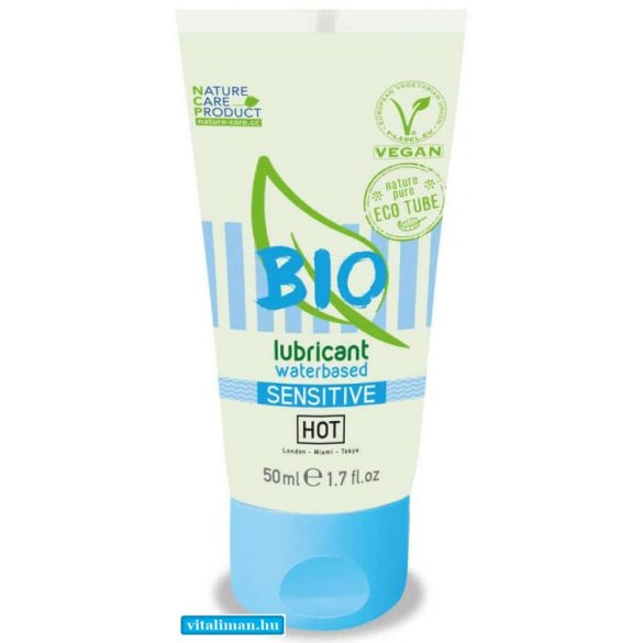 HOT BIO lubricant waterbased Sensitiv - 50 ml