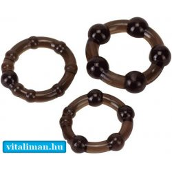 Pro Rings Frosted Black set - 3 db