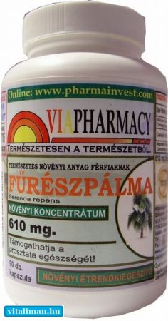 Viapharmacy Fűrészpálma – 90 kapszula