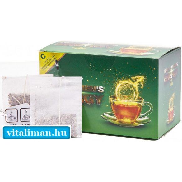 Gentlemen's Energy Tea citromos ízben - 20 filter