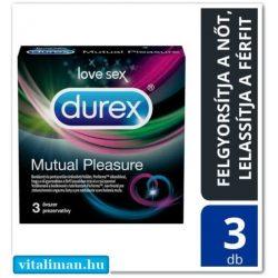 DUREX Mutual Pleasure óvszer - 3 db
