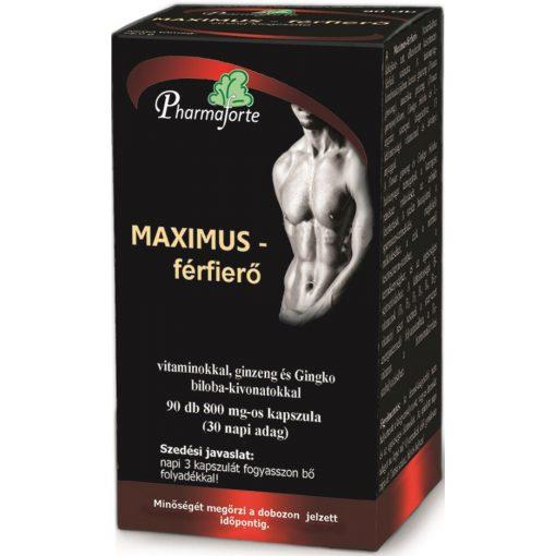 MAXIMUS férfierő kapszula - 90 db