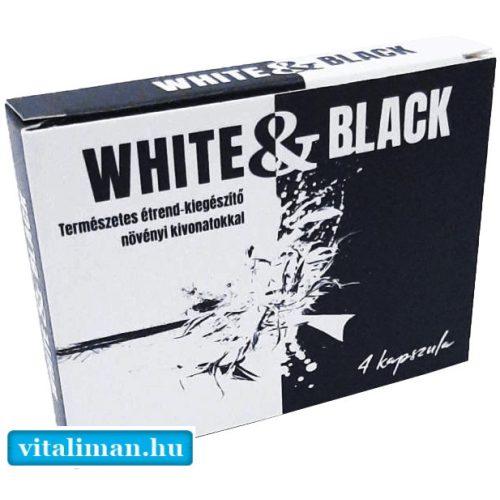 White & Black potencianövelő - 4 db kapszula