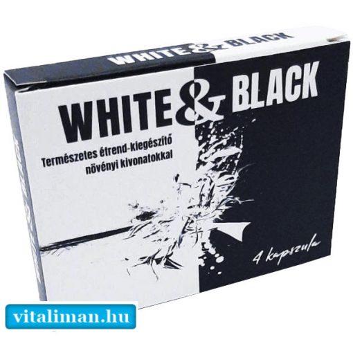 WHITE&BLACK - 4 kapszula