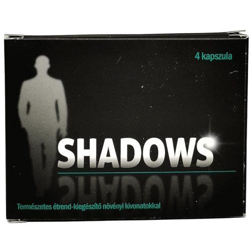SHADOWS potencianövelő - 4 db kapszula