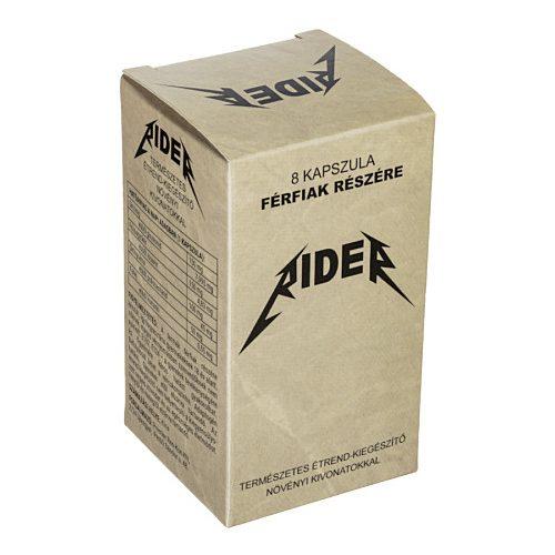 RIDER potencianövelő - 8 db kapszula