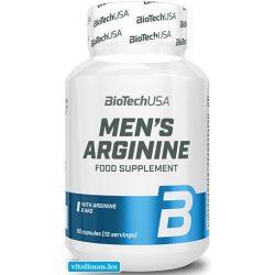 BioTech USA Mens Arginine - 90 db