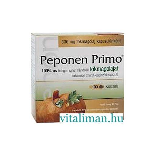 Peponen Primo kapszula - 100 db