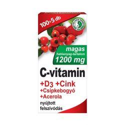 Dr. Chen 1200 mg C-vitamin+D3+Cink - 105 db