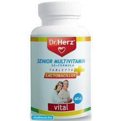 Dr. Herz Senior multivitamin - 60 kapszula