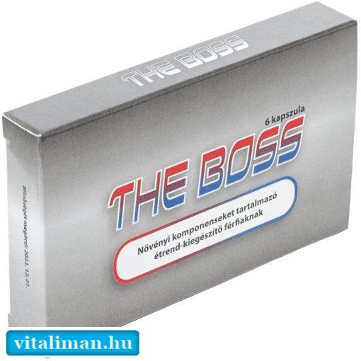 THE BOSS potencianövelő - 6 db kapszula