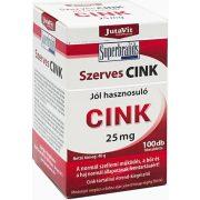 Jutavit Szerves Cink 25 mg - 100 db