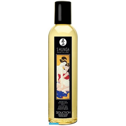 Erotic Massage Oil Midnight Flower - 250 ml