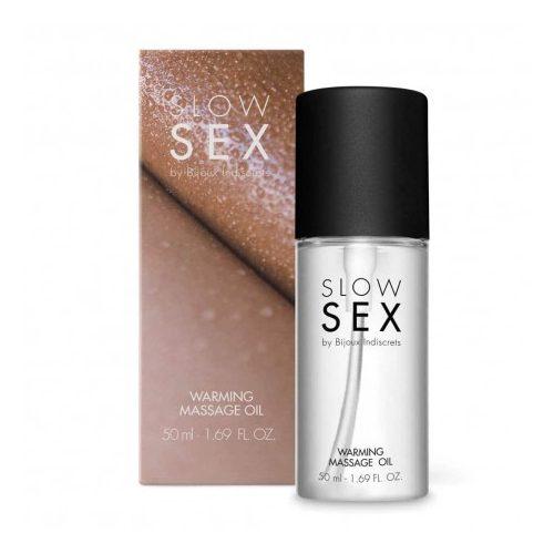 SLOW SEX Warming massage oil - 50 ml