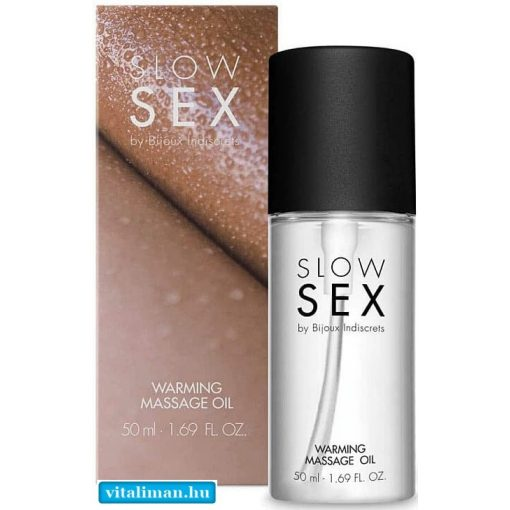 SLOW SEX Warming massage oil - 50 ml