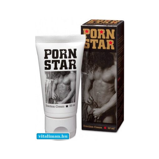 PORN STAR erection cream - 50 ml