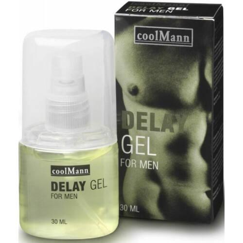 CoolMann Delay Gel - 30 ml