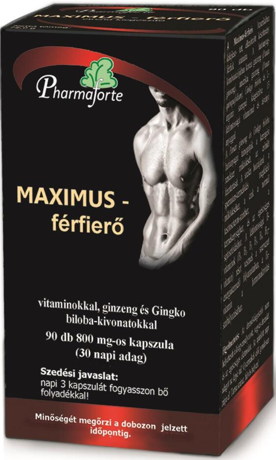 MAXIMUS: a férfierő