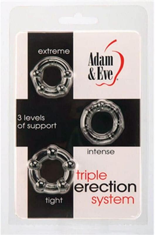Triple Erection System - 3 db